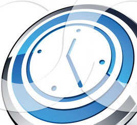 3d-Wall-Clock-Web-Site-Button-102475600